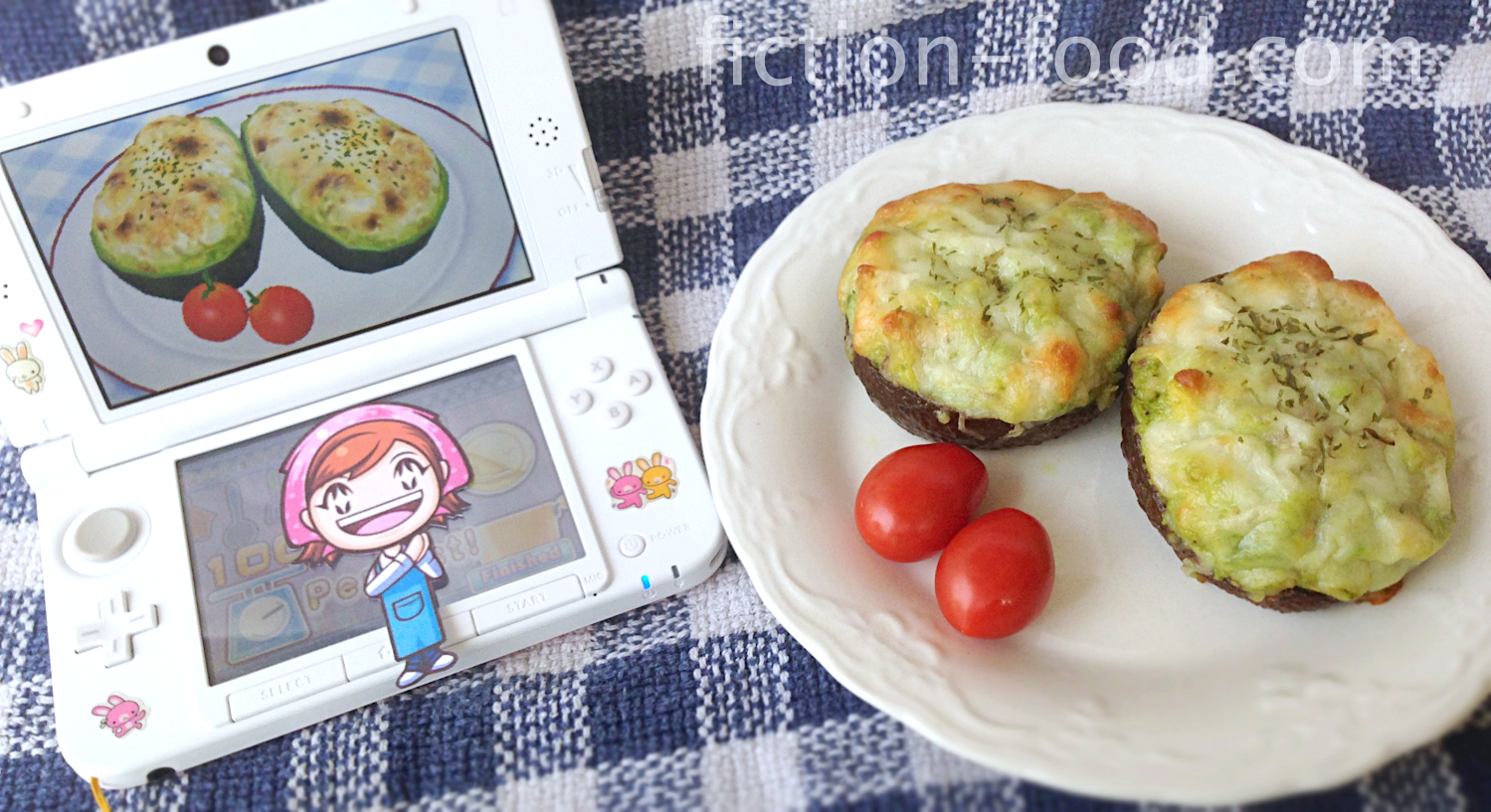 Fiction Food Caf Avocado Gratin From Cooking Mama 4 Kitchen Magic