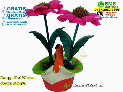 Bunga Pot Warna