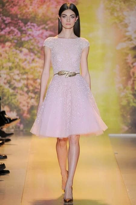 Runway Zuhair Murad Spring 2014 couture collection