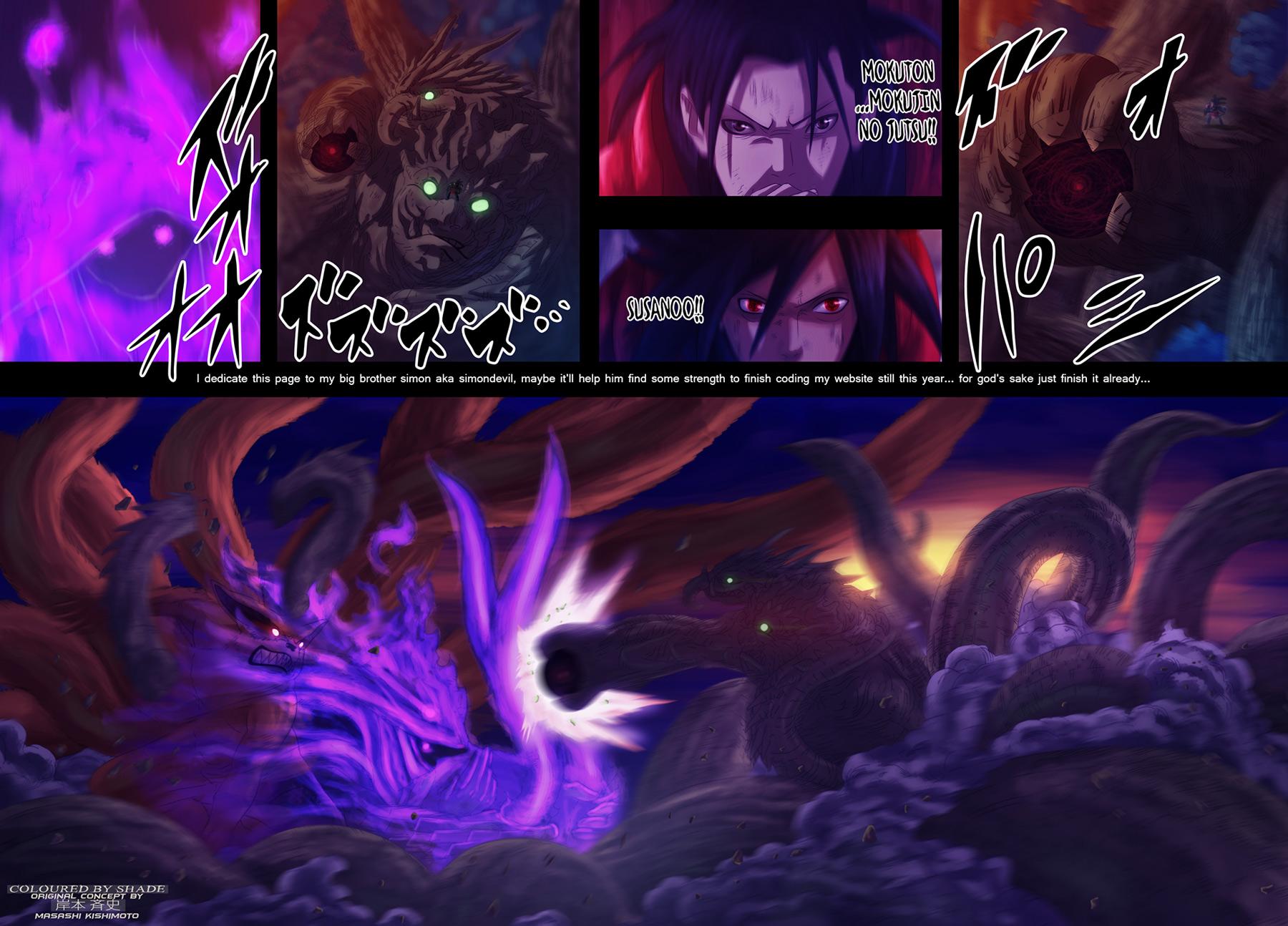 Naruto chap 630 Trang 19