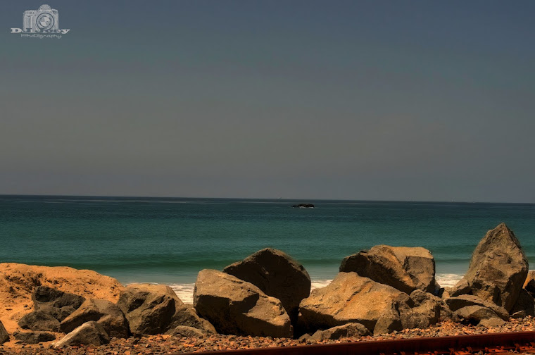 San Clemente Beach with Rocks