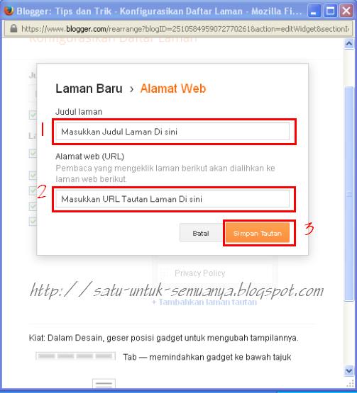 cara membuat laman tautan pada laman blog-4