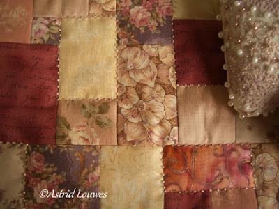 Dienblad met quilt
