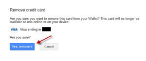 Credit Card Details From Google Play Store: