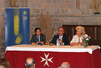 Conferencia de Francisco Millán Mon sobre el Camino de Santiago.