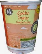 Morrisons golden syrup porridge
