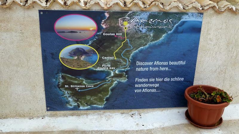 Wandern in Afionas (Korfu)
