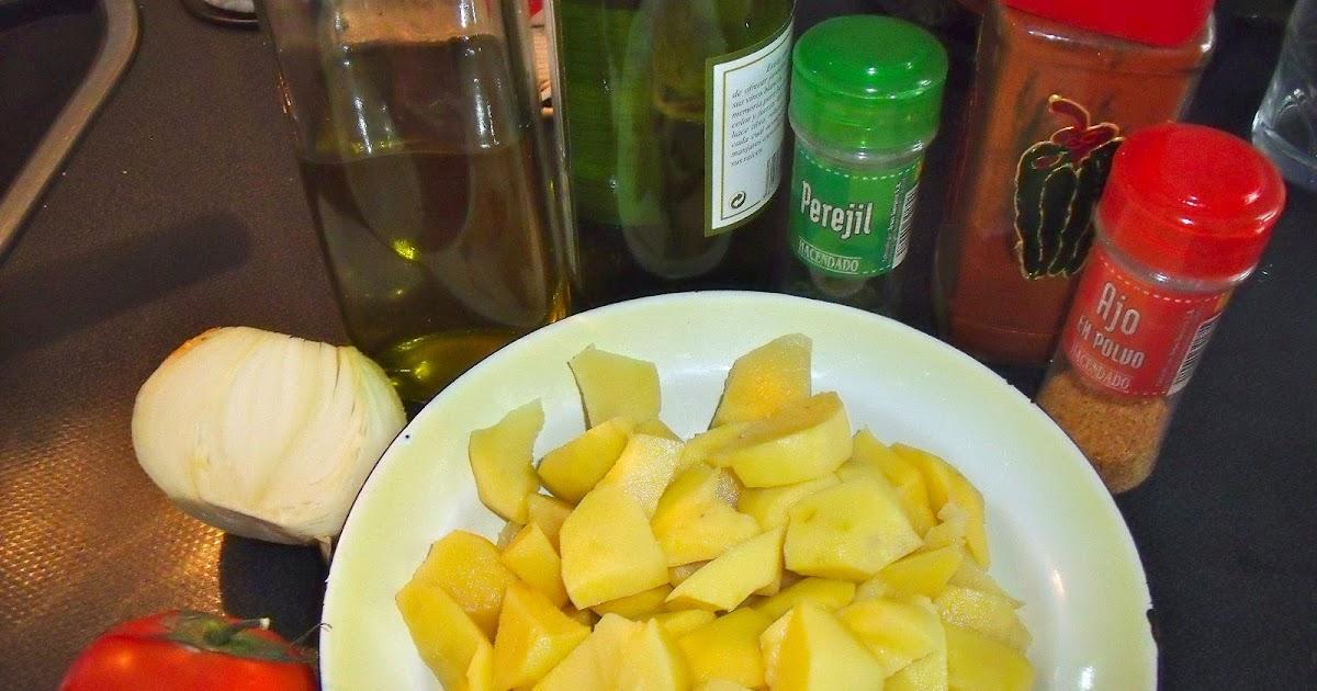 Am am patatas a lo pobre express mis 5 sentidoss for Cocinar patatas a lo pobre