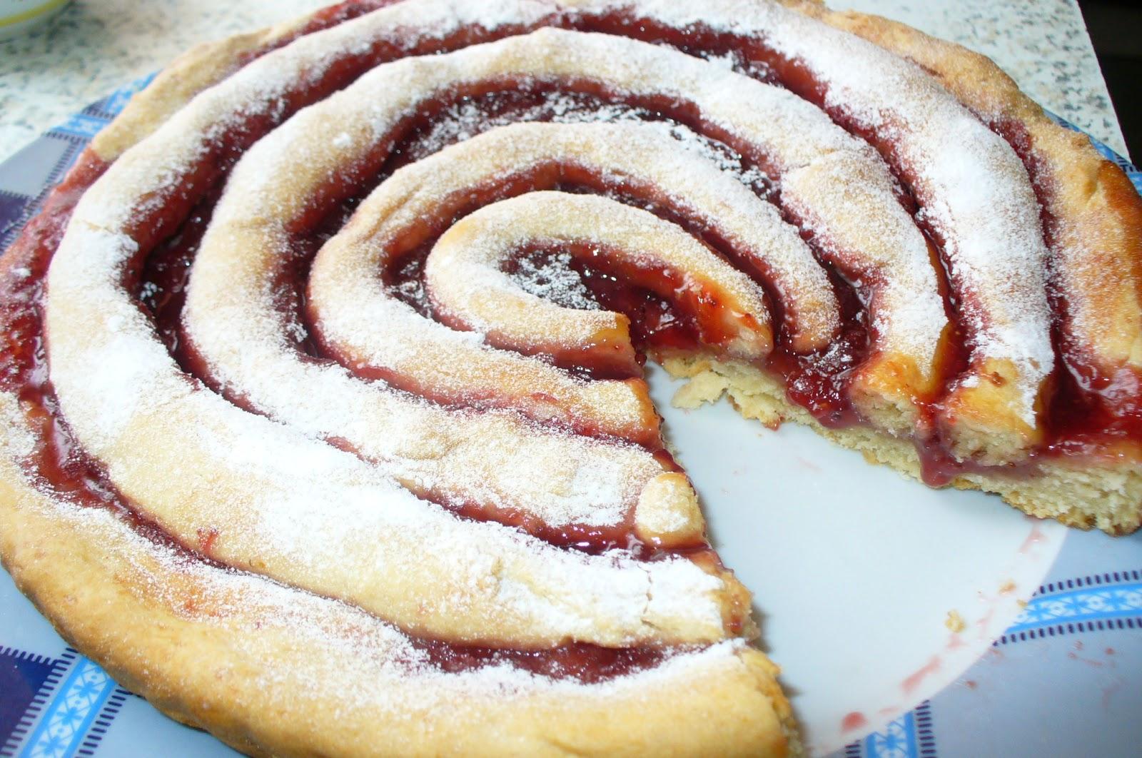 Пирог с клубничным вареньем рецепты