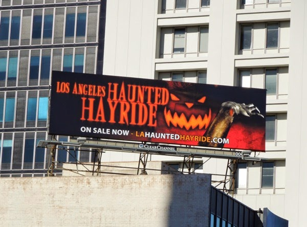 L.A. Haunted Hayride billboard 2014
