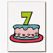 Aniversário de 7 anos do Blog