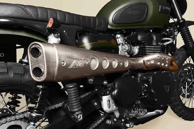 Triumph Scrambler | Custom Triumph Scrambler | Custom Triumph Scrambler seat | Custom Triumph Scrambler exhaust | Custom Triumph Scrambler parts | Custom Triumph Scrambler for sale | Triumph Scrambler custom photo
