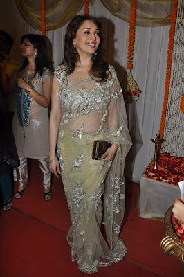 Madhuri at an event