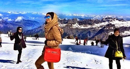 Gambar Percutian Rozita Che Wan Dan Zain Saidin Ke Switzerland