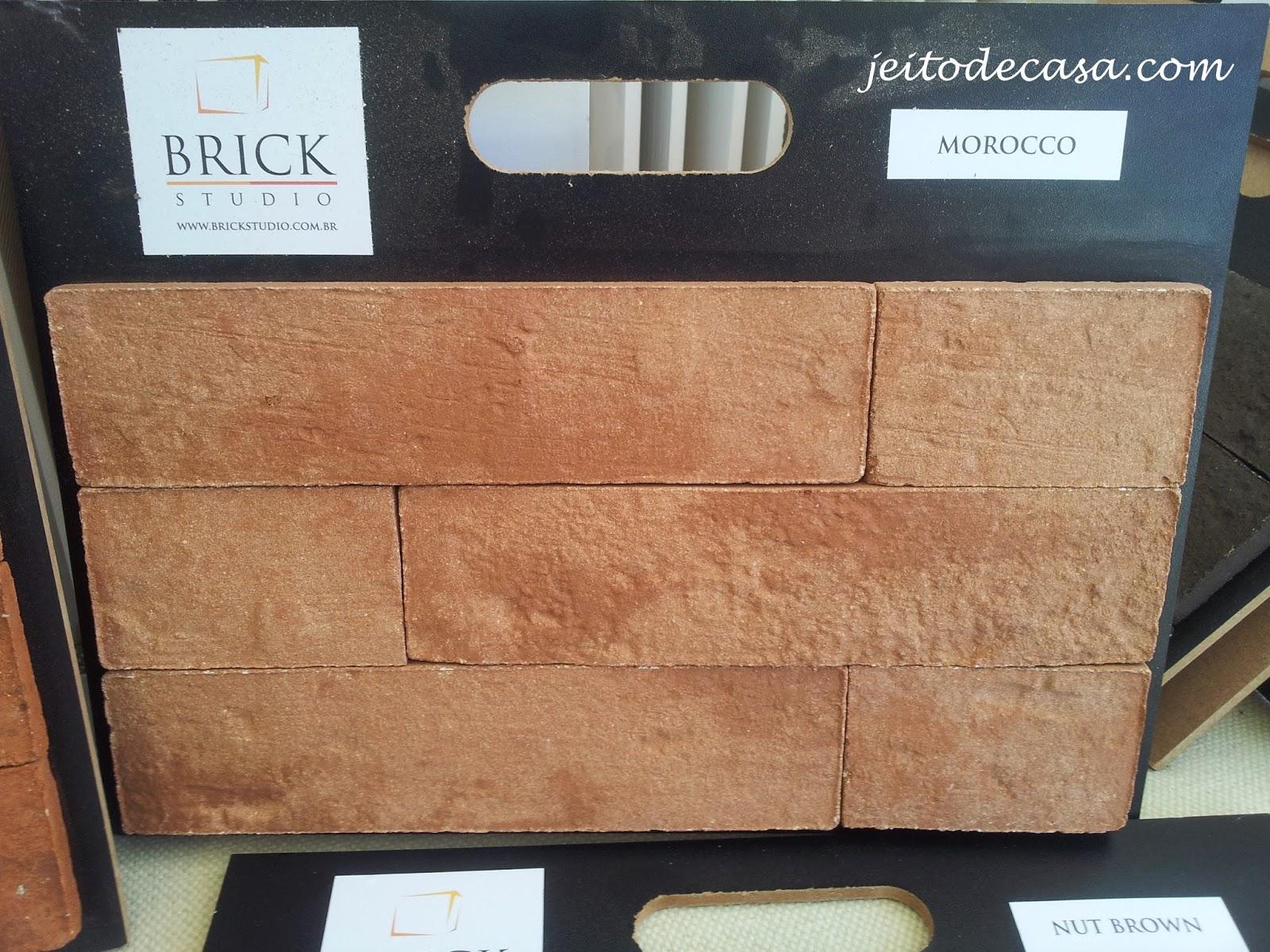 plaquetas de tijolos aparentes da brick studio