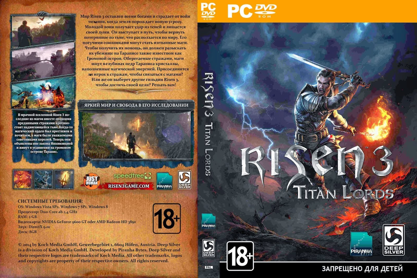 Risen 3 Titan Lords imagens
