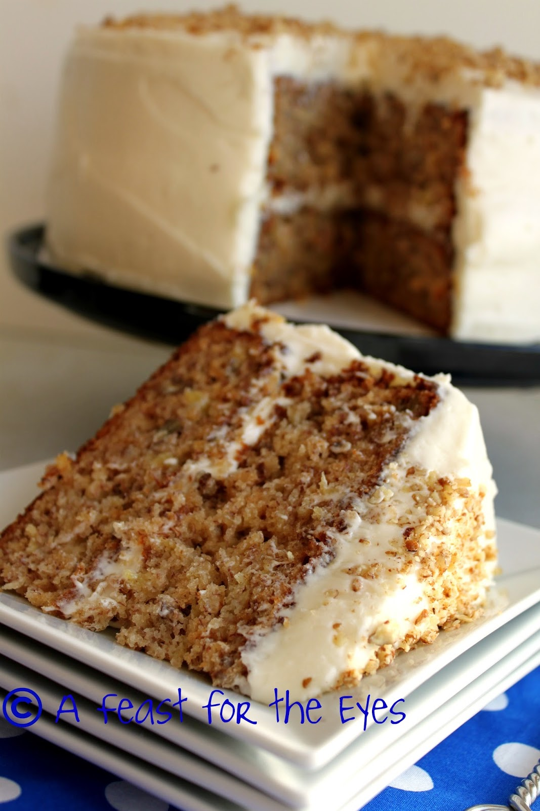 Hummingbird Banana Cake Recipe