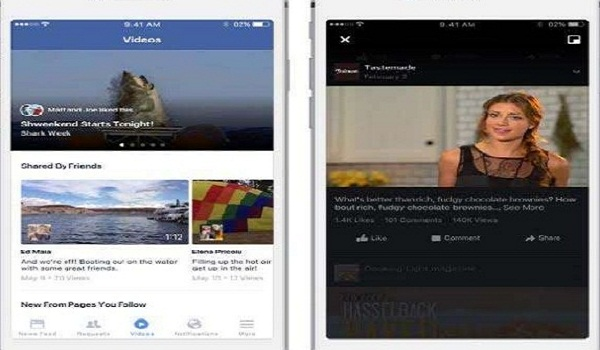 Compete with YouTube , Facebook Test Several New Features