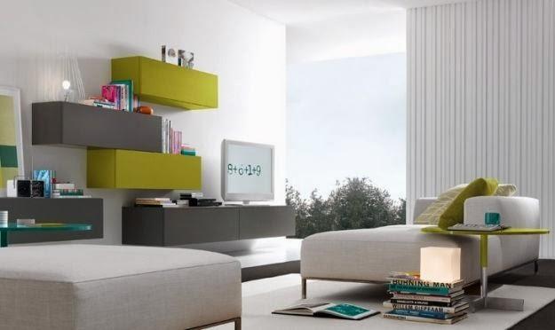consigli per la casa e l' arredamento: tendenza arredamento 2014 ... - Arredamento Grigio E Rosso