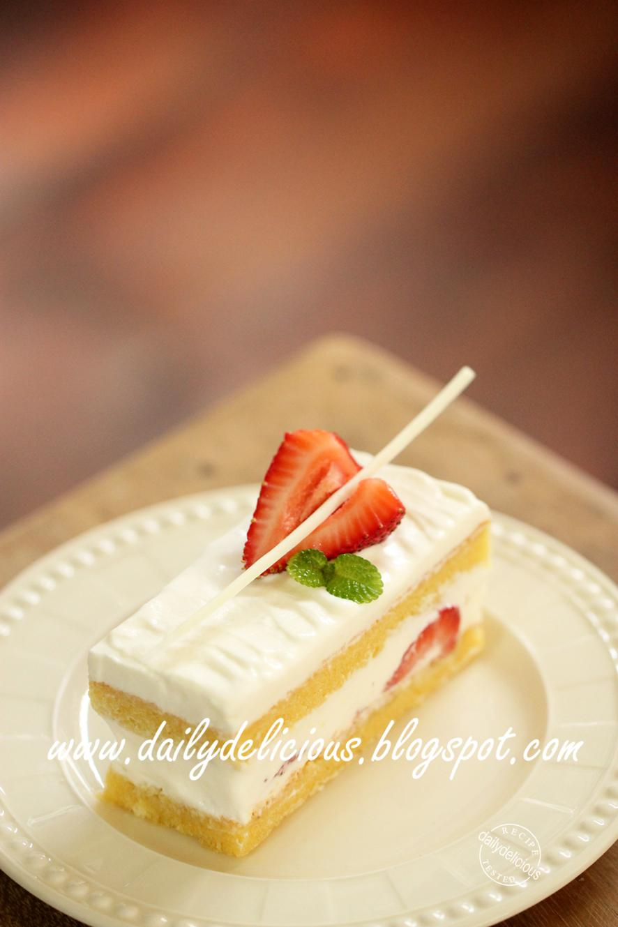 ... のショートケーキ: Japanese Strawberry shortcake, your way