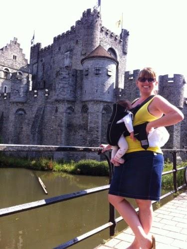 Trip to Belgium: Castle in Gent