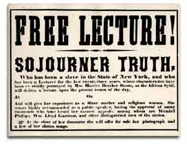 Sojourner Truth Lecture Bill
