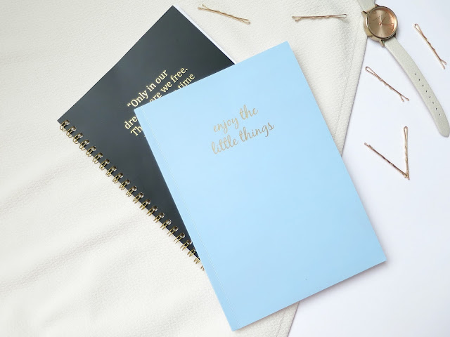Chroma Stationery personalised notebook embossed