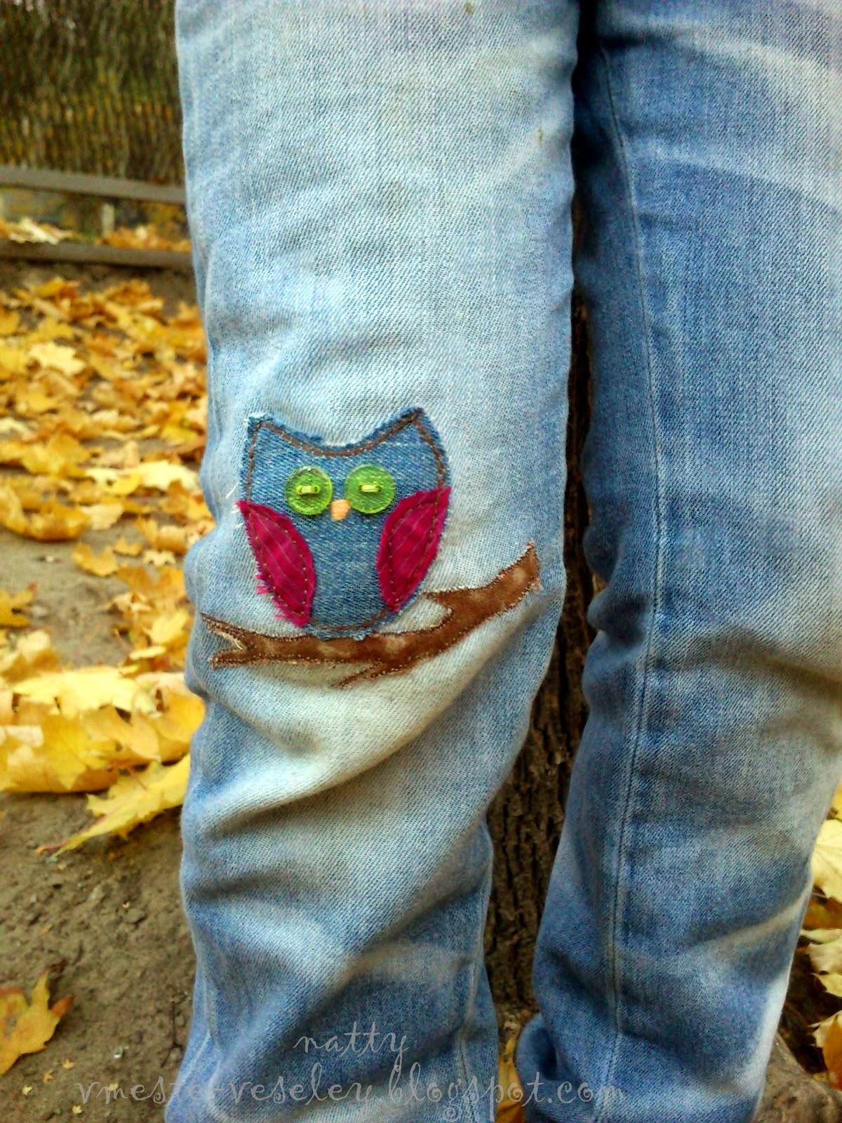 Красивые заплатки на джинсы своими руками фото женские