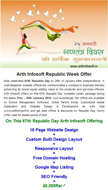 Offer On 26 Jan 2016 Republic Day