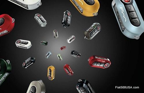 Fiat 500 Key Covers