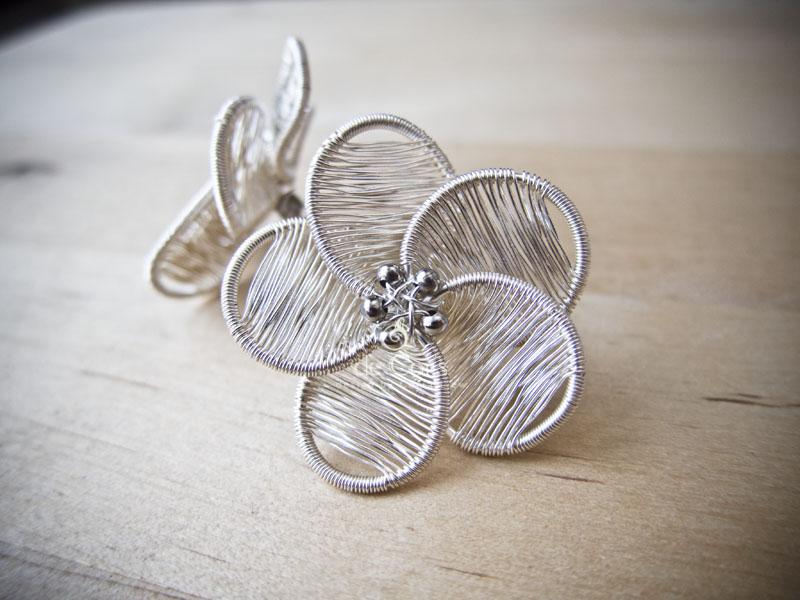 de Cor\'s Handmades - Malaysia Handmade Jewelry: Flower Studs for ...