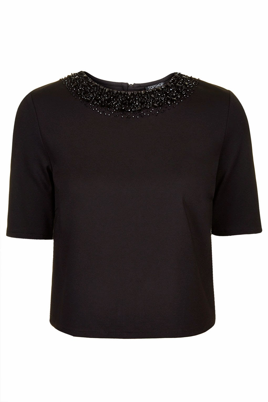 black necklace top