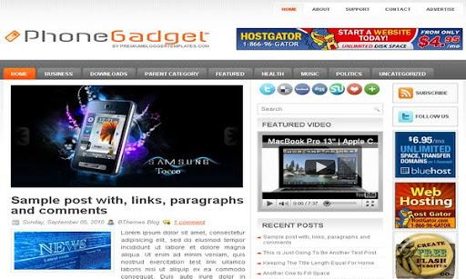 PhoneGadget Blogger Template