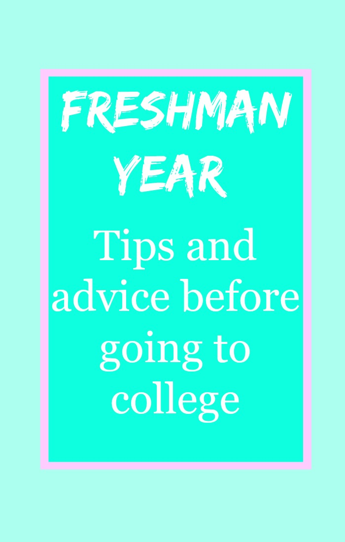 tips for college freshman