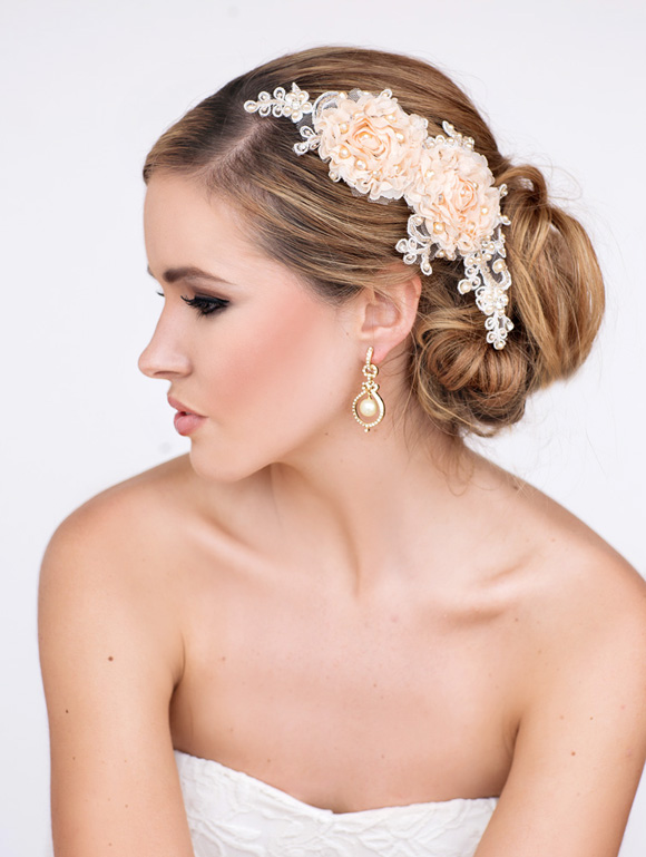 Angel Bridal Headpiece - www.perlejewellerymakeup.com.au