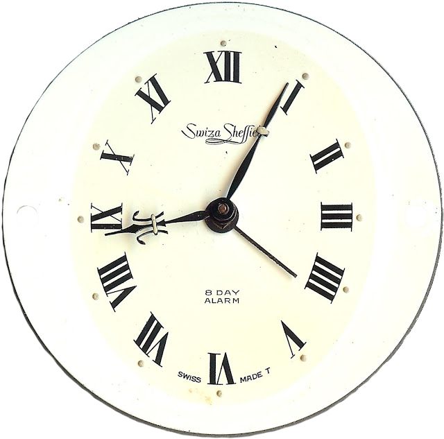 Printable Clock Face Graphics