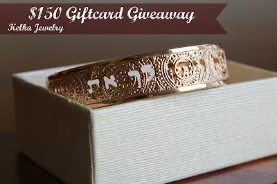 Kelka Jewelry – $150 Jewelry Gift Certificate Giveaway