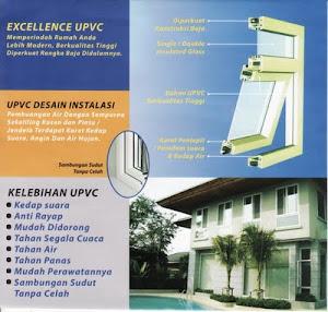 pintu jendela kusen UPVC dan Alumunium