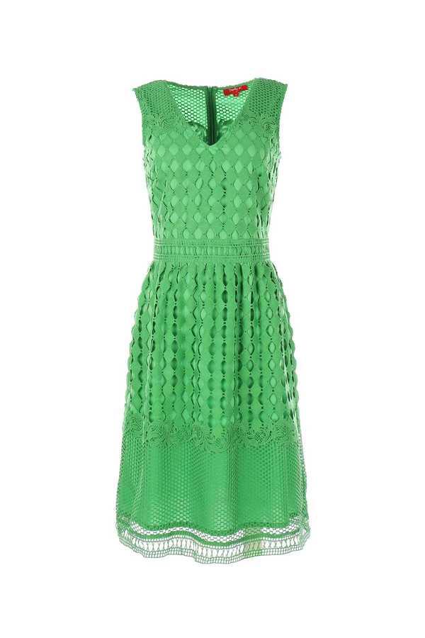 Πρασινο φορεμα δαντελα εισαγωγης !