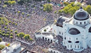 misa campal papa francisco caacupe paraguay por internet