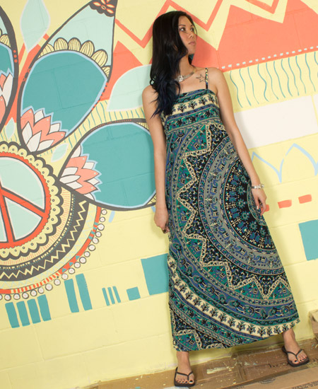 shiva+tapestry+maxi+dress - Tapestries You Can Wear!