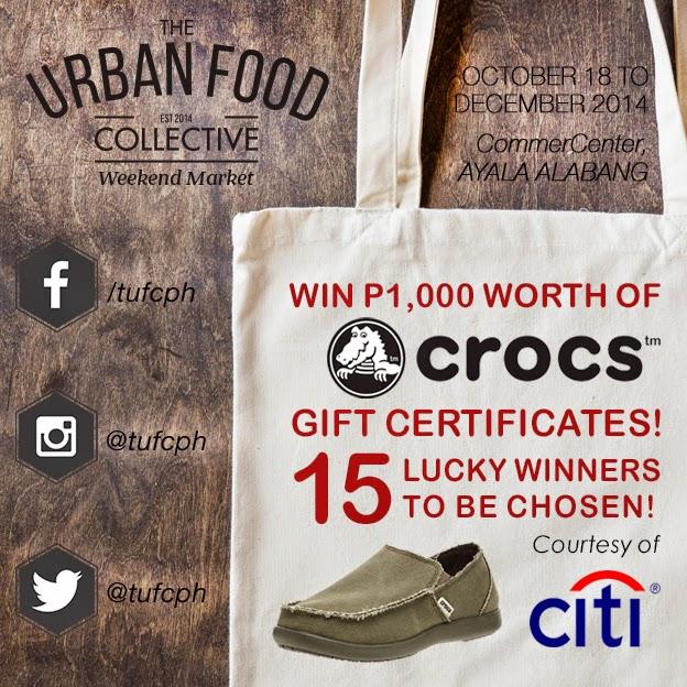 Crocs giveway