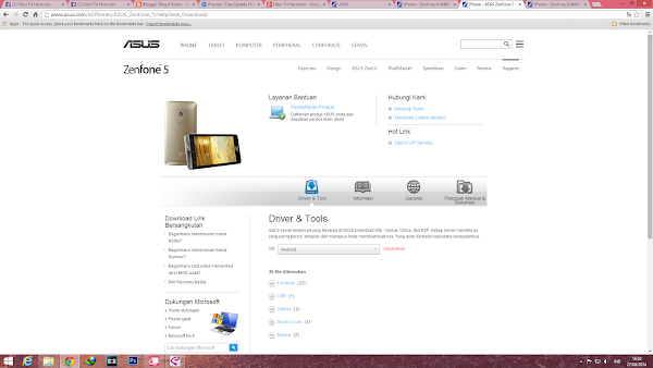 update firmware Zenfone 6 manual