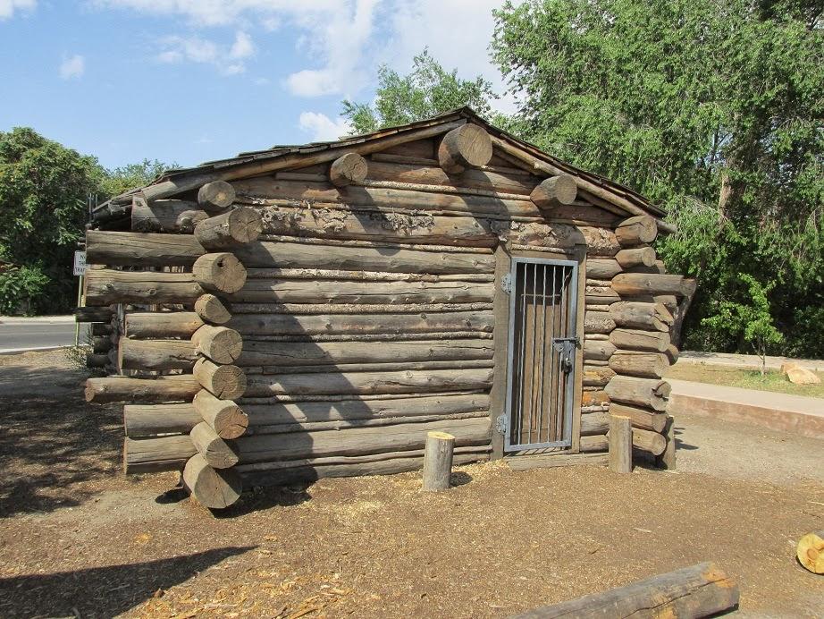 billy the kid log cabin