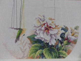 Dimensions Hibiscus Duo Cross Stitch