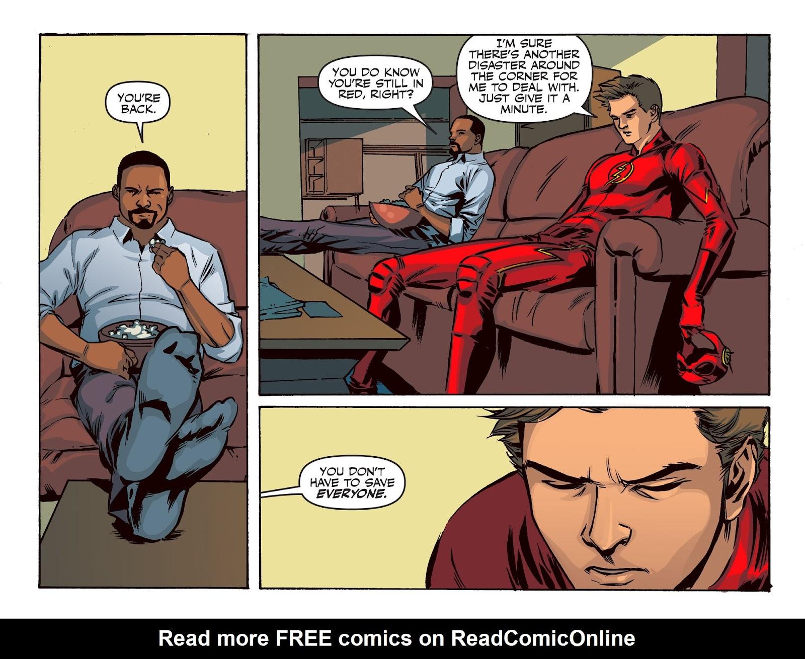 The Flash: Season Zero [I] Issue #20 #20 - English 15