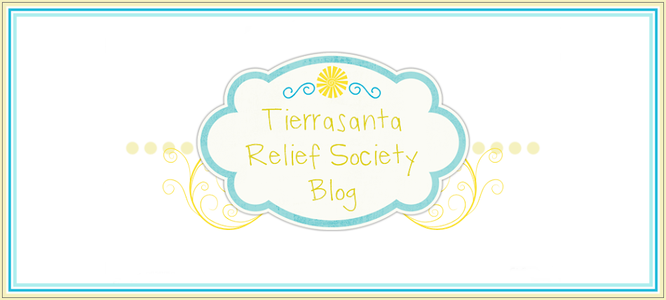 Tierrasanta Relief Society Blog
