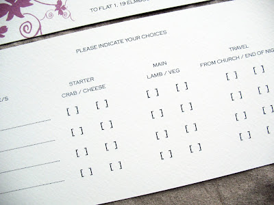 If You Have A Choice On Your Menu Can Ask Guests Preference In Advance The Following Way Please Indicate Of Beef Fish