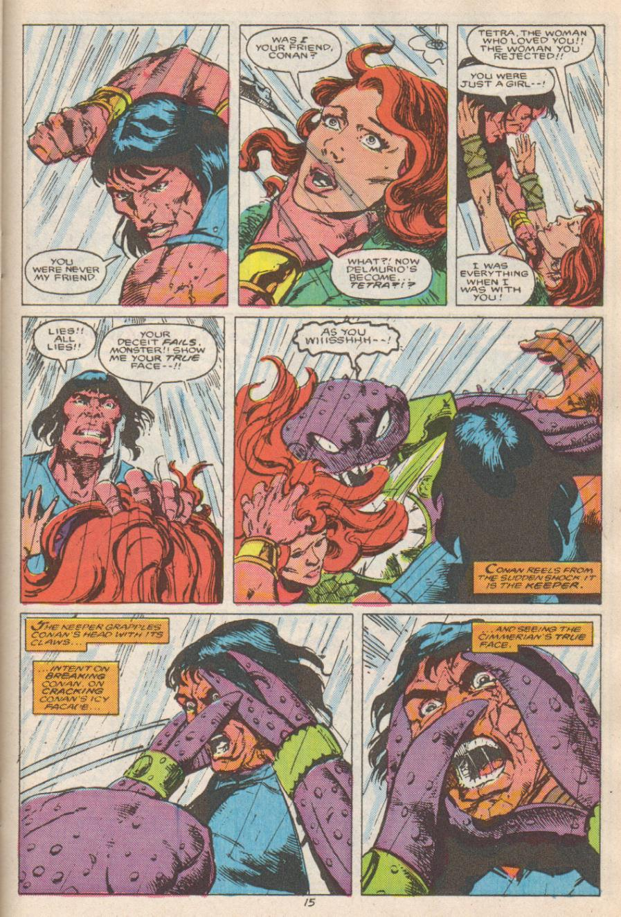 Conan the Barbarian (1970) Issue #192 #204 - English 16