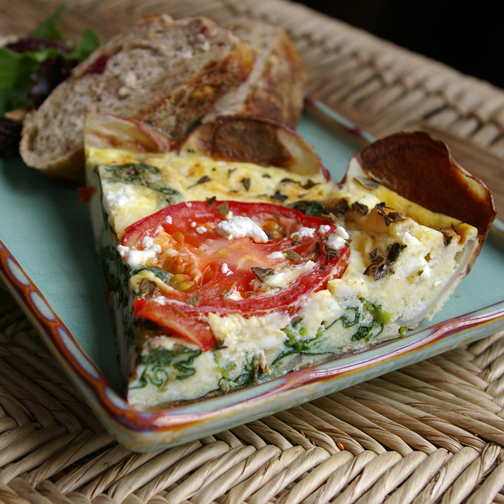 no reEATS: Fed 21-23 Greek Frittata